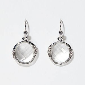 New Anne Taylor Loft Crystal Earrings